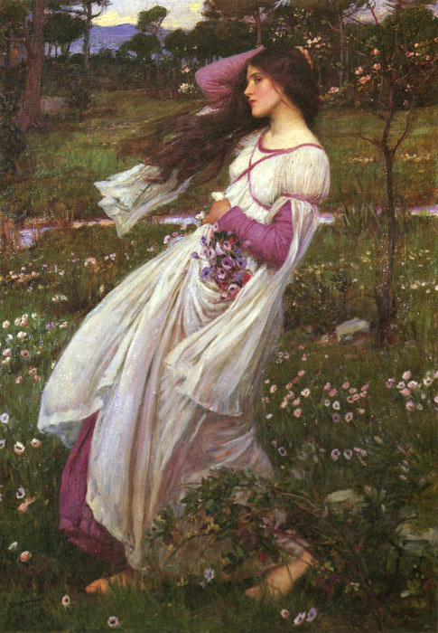 Windswept, 1902  Painting Reproductions
