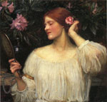 Waterhouse, John William Vanity , c.1910 Art Reproductions