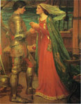 Waterhouse, John William Tristan and Isolde with the Potion Art Reproductions