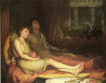 Waterhouse, John William Sleep and His Half Brother Death, 1874 Art Reproductions