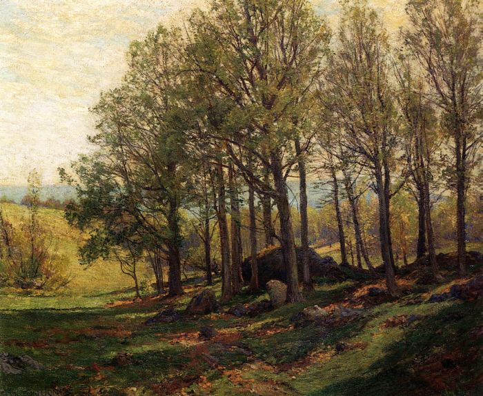 Maples in Spring Jones, Hugh Bolton Painting Reproductions