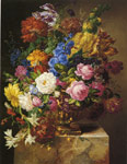6461 Blumenbouquet, 1840 Art Reproductions