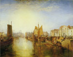 Turner, Joseph Mallord William Antwerp:Van Goyen Looking Out For a Subject, 1833 Art Reproductions