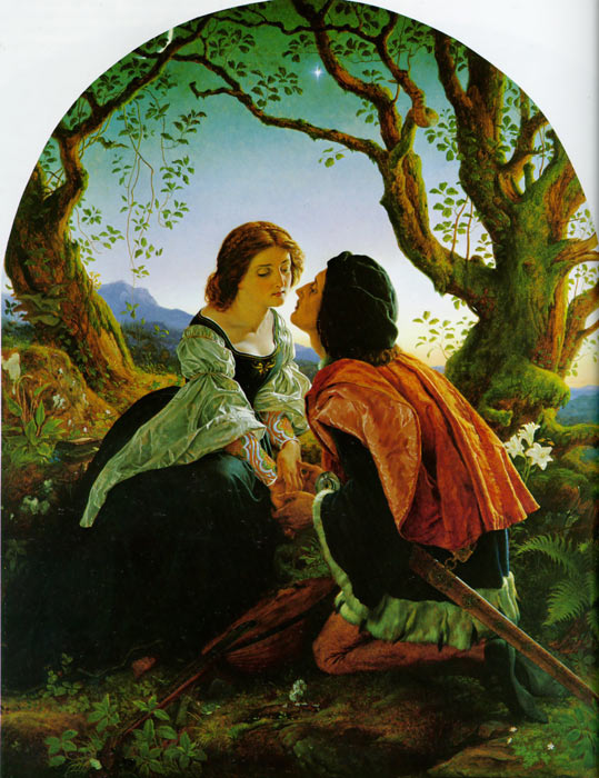 Pre-Raphaelite Paintings, Hand Painted on canvas