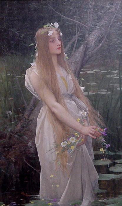 Ophelia  Painting Reproductions