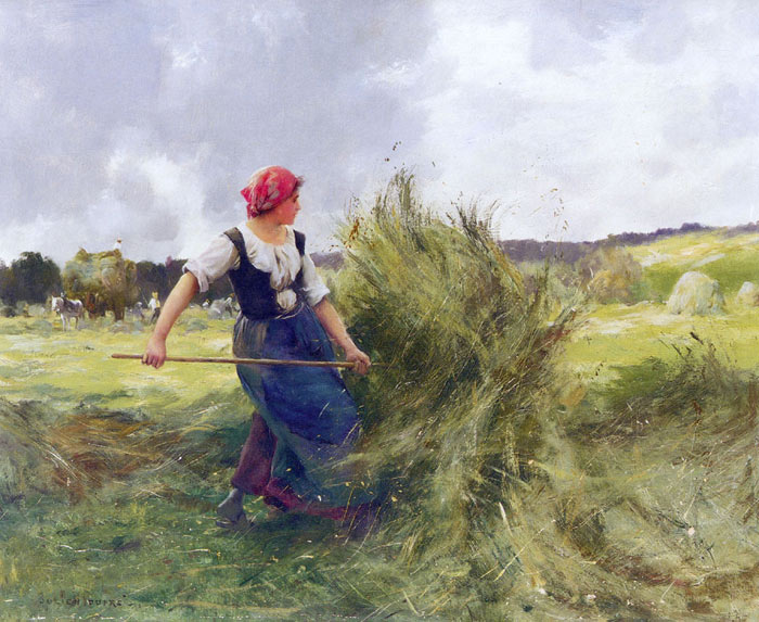 La Faneuse [The Haymaker]  Painting Reproductions