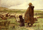Dupre, Julien Le Berger [The Shepherd] Art Reproductions