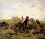 Dupre, Julien The Harvesters, 1889 Art Reproductions