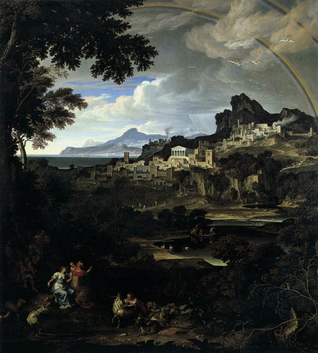 Heroic Landscape with Rainbow, 1815  Painting Reproductions