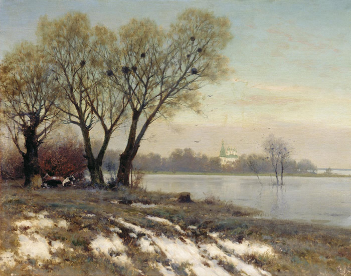 Paintings Kryzhitskii, Konstantin Iakovlev