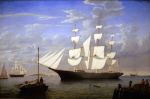 0 'Starlight' in Harbor, 1855 Art Reproductions