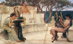 175 Sappho and Alcaeus, 1881 Art Reproductions