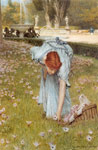 Alma-Tadema,Sir Lawrence Flora, 1877 Art Reproductions