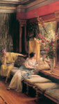 Alma-Tadema,Sir Lawrence Vain Courtship, 1900 Art Reproductions