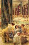 Alma-Tadema,Sir Lawrence The Baths of Caracalla, 1899 Art Reproductions