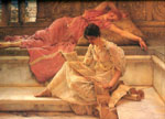Alma-Tadema,Sir Lawrence The Favourite Poet, 1888 Art Reproductions