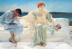 Alma-Tadema,Sir Lawrence Ask me no more, 1906 Art Reproductions