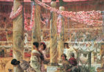 Alma-Tadema,Sir Lawrence Caracalla and Geta, , 1909 Art Reproductions