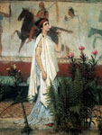 Alma-Tadema,Sir Lawrence A Greek Woman, 1869 Art Reproductions