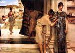Alma-Tadema,Sir Lawrence The Frigidarium, 1890 Art Reproductions