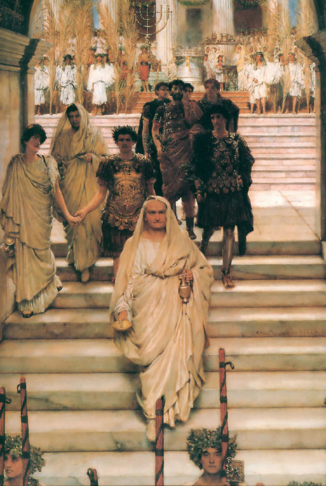 The Triumph of Titus, 1885 Alma-Tadema,Sir Lawrence Painting Reproductions