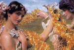 Alma-Tadema,Sir Lawrence When Flowers Return, 1911 Art Reproductions