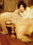 Alma-Tadema,Sir Lawrence A Listener, 1899 Art Reproductions