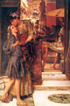Alma-Tadema,Sir Lawrence The Parting Kiss, 1882 Art Reproductions