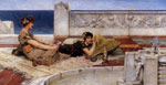 Alma-Tadema,Sir Lawrence Love's Votaries, 1891 Art Reproductions