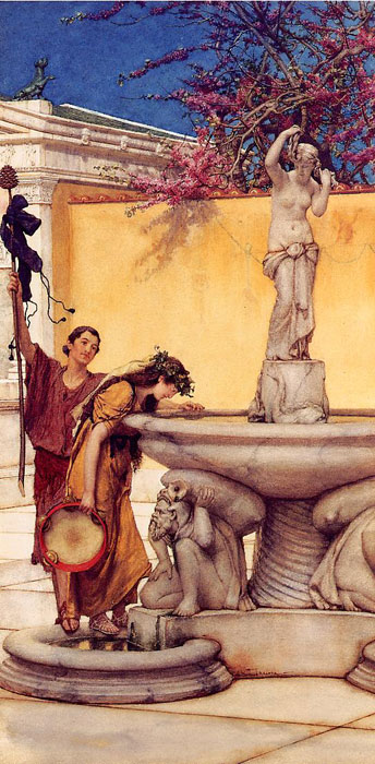 Between Venus and Bacchus, 1882  Painting Reproductions
