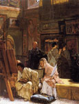 Alma-Tadema,Sir Lawrence The Picture Gallery, 1874 Art Reproductions