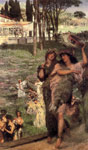 Alma-Tadema,Sir Lawrence On the Road to the Temple of Ceres, 1879 Art Reproductions