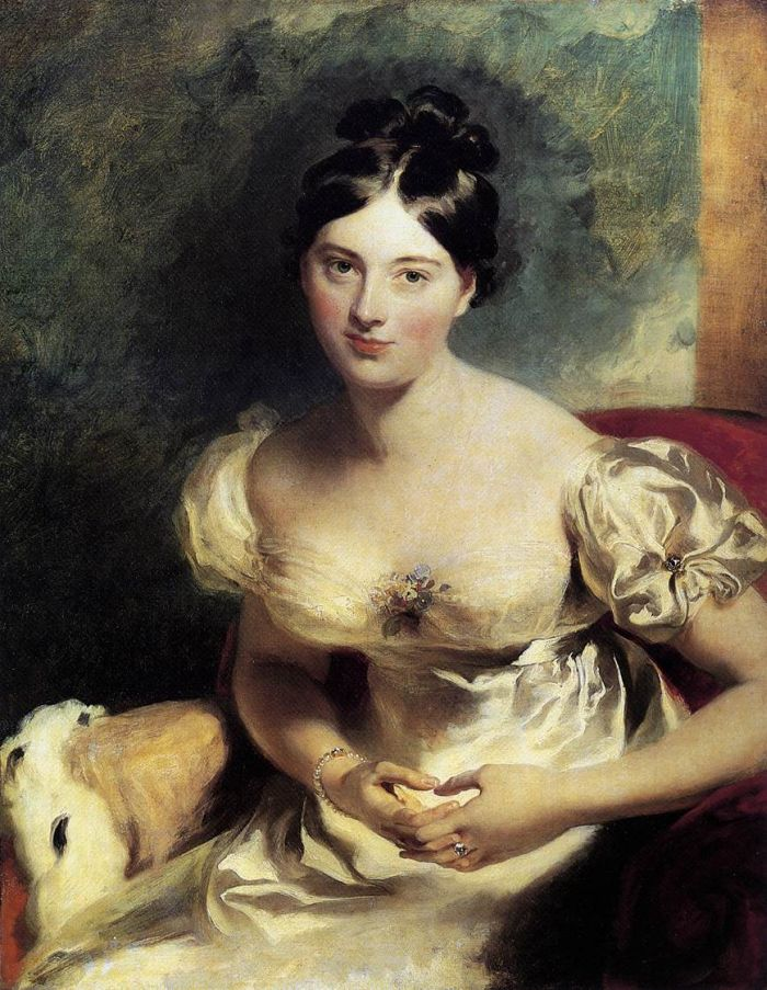 Margaret, Countess of Blessington, 1822  Painting Reproductions