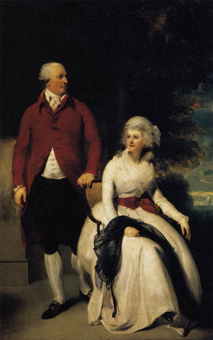 Mr and Mrs John Julius Angerstein, 1792  Painting Reproductions