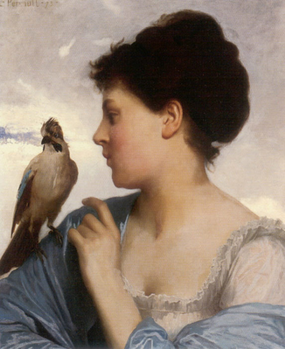 The Bird Charmer, 1873  Painting Reproductions