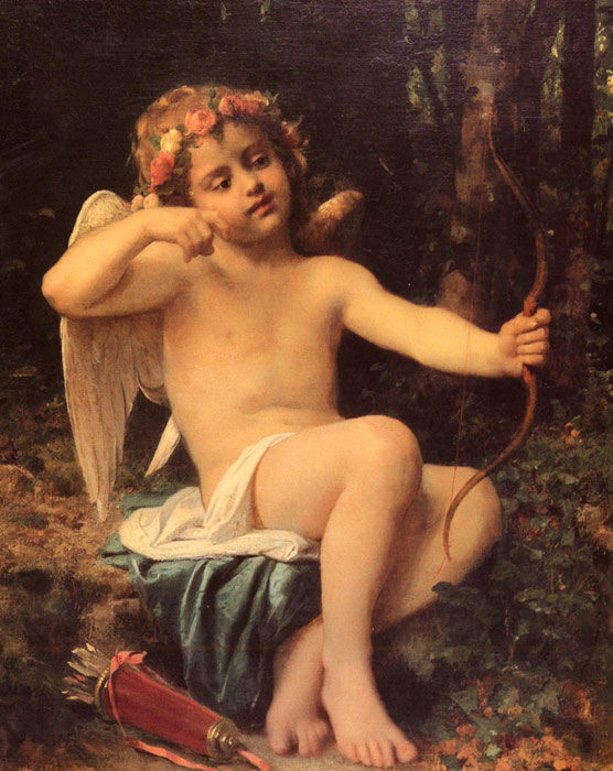 Cupid's Arrows, 1882  Painting Reproductions