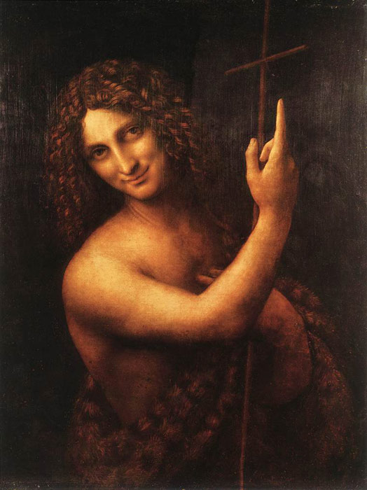 St.John the Baptist, 1513-1516  Painting Reproductions