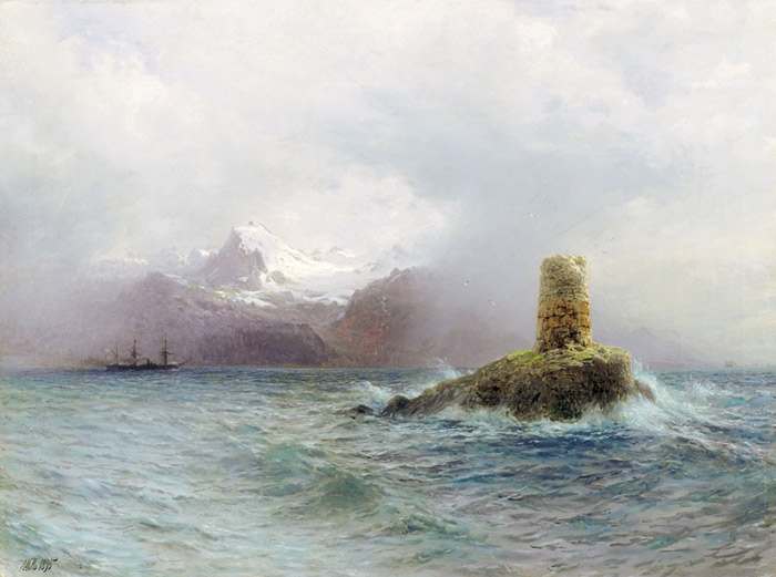 Lafotensky Island, 1895  Painting Reproductions