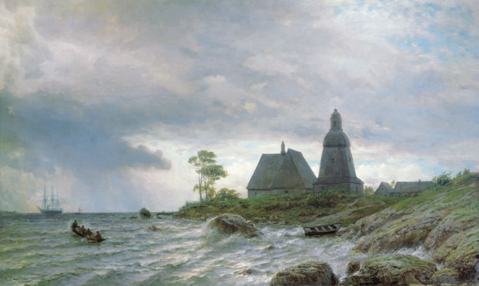 Northern Landscape, 1872  Painting Reproductions