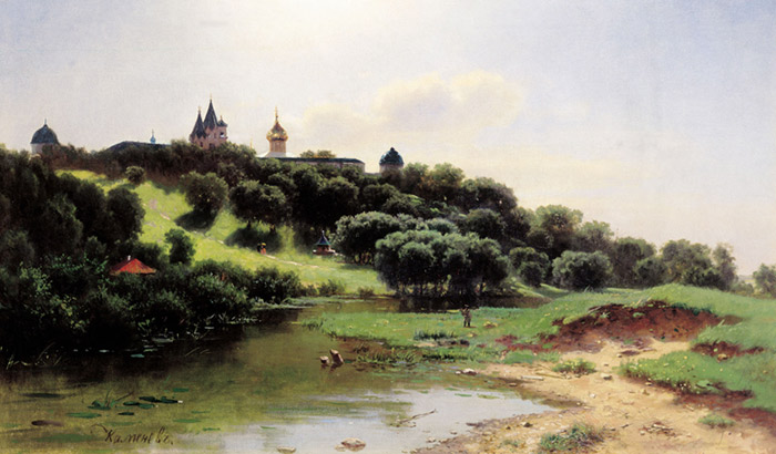 A Cluster near Zvenigorod, 1860  Painting Reproductions