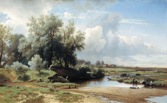Landscape, 1861  Painting Reproductions
