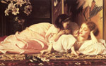 Leighton, Lord Frederick Mother and Child, c.1865 Art Reproductions