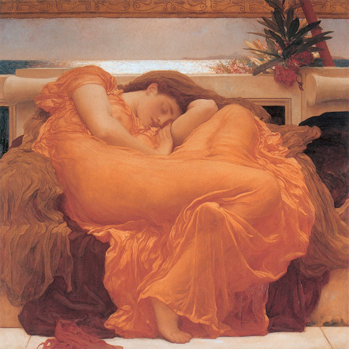 Lord Frederick Leighton Paintings, Hand Painted on canvas