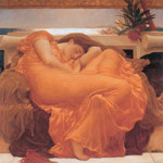 2653 Flaming June, c.1895 Art Reproductions