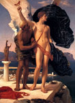 Leighton, Lord Frederick Daedalus and Icarus,  c.1869 Art Reproductions