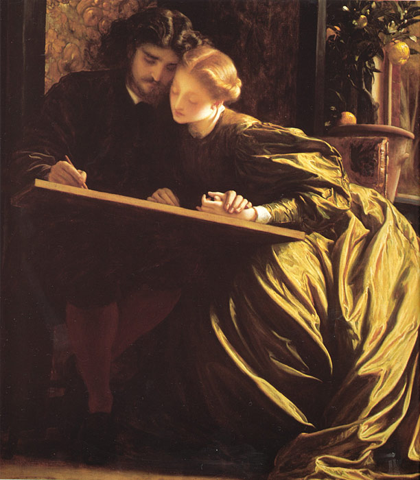 The Painter's Honeymoon, c.1864  Painting Reproductions