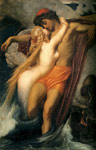 Leighton, Lord Frederick The Fisherman and the Syren, c.1856-1858 Art Reproductions