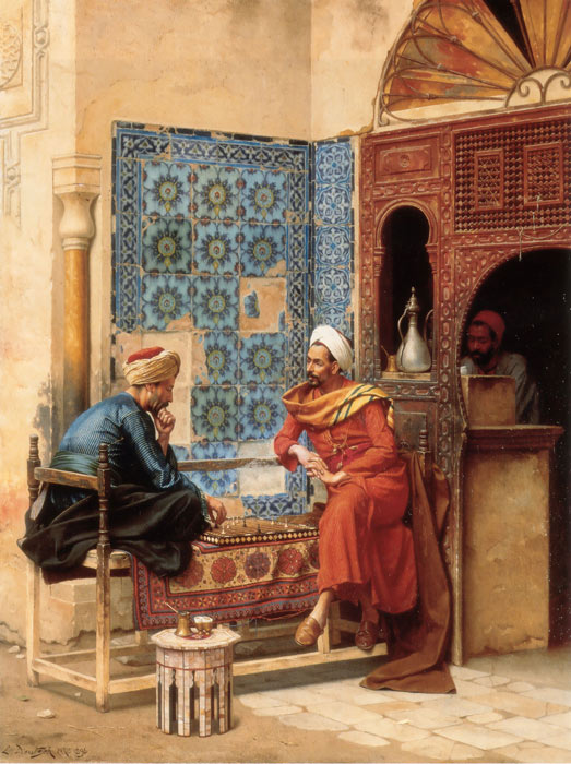 Orientalism Paintings, Hand Painted on canvas