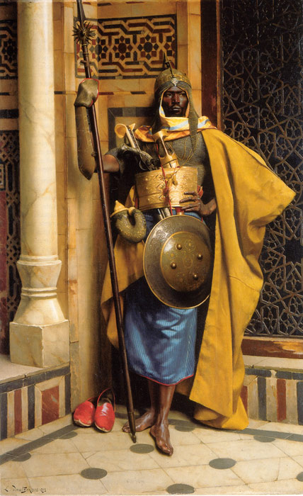 The Palace Guard, 1892  Painting Reproductions