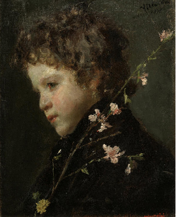 Almond Blossoms 1876  Painting Reproductions